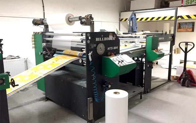 Billhöffer B/1 es automata fóliázógép