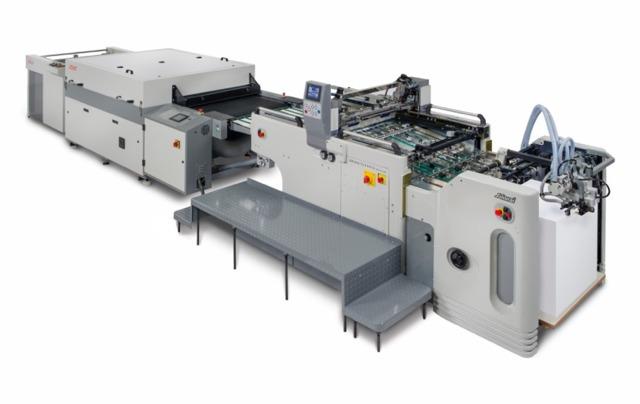 Sakurai UV lakkozó gép
